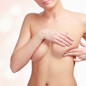 Canva Woman Pressing Her Breast