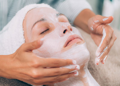 rejuvenating facial skin mask treatment RGWDNSY